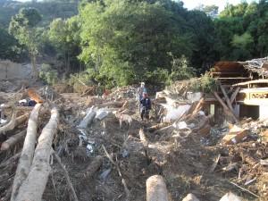 2014年広島安佐南区災害救助活動